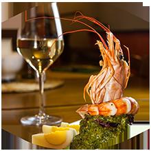 Cappon Magro all'Osteria Cadraio Genova, cena con piatti tipici della cucina ligure