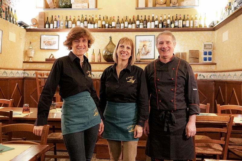 Team Osteria il Cadraio - Ristorante cucina tipica ligure Genova via Garibaldi